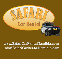 Safari Car Rental Namibia