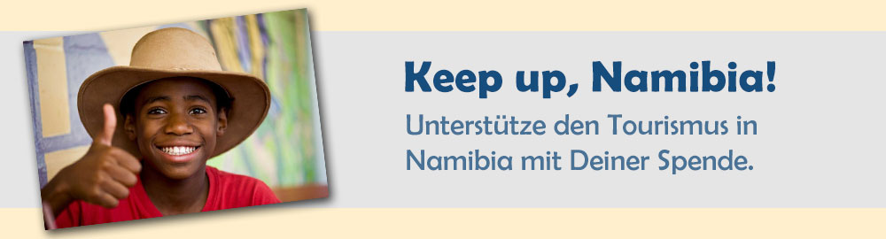 Keep up, Namibia